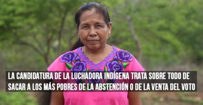Marichuy Patricio, candidata independiente