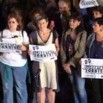 Miles marchan con velas por la liberación de los líderes independentistas catalanes