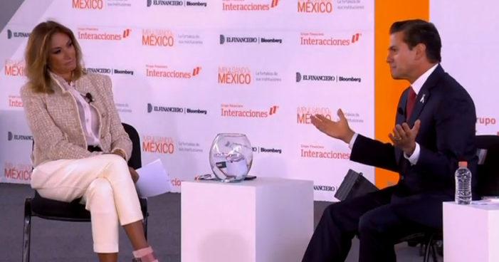 Peña Nieto se defiende: 'mexicanos culpan de todo a la corrupción' (Videos)