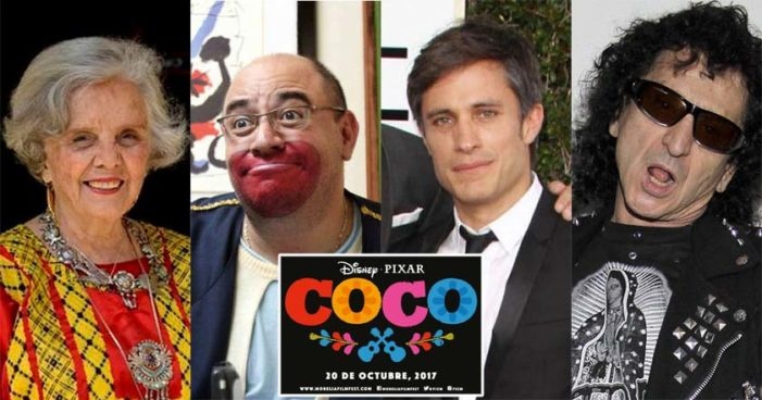 Poniatowska, Brozo, Gael García, Alex Lora… Este es el elenco de 'Coco', de Pixar