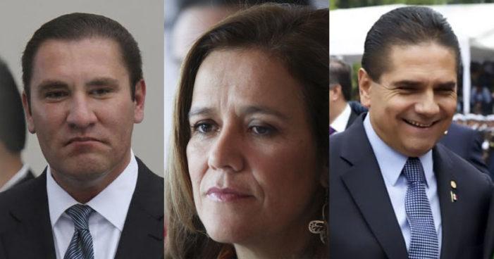 Piden Moreno, Zavala y Aureoles elección abierta para elegir candidato de Frente PAN-PRD