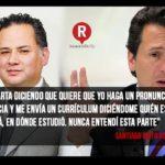 Emilio Lozoya pidió a Fepade que lo declarará inocente y le ofreciera disculpas
