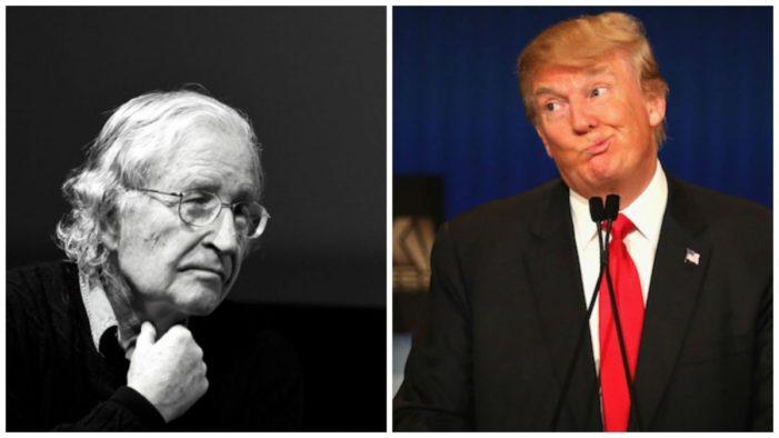 'Donald Trump nos acerca más al apocalipsis': Noam Chomsky