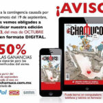 Vende 'El Chamuco' su reciente número vía Internet, 50% de ganancias irán a afectados por sismos