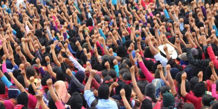 Marichuy Patricio arrancó campaña en las zonas zapatistas de Chiapas