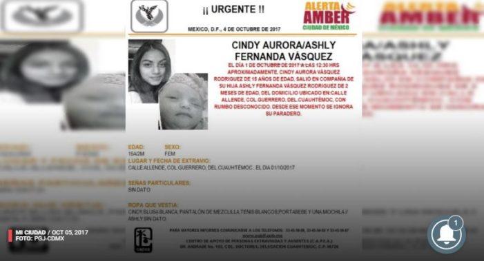 Desaparecen madre e hija menores de edad en la colonia Guerrero