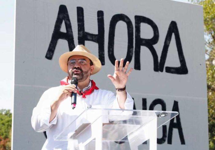 Candidaturas doblan a 'Ahora' y a Álvarez Icaza, se unen al Frente PAN-PRD-MC