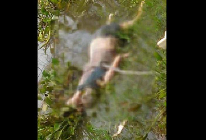 Ana iba a encontrarse con su novio y desapareció, hallaron su cuerpo flotando en un río