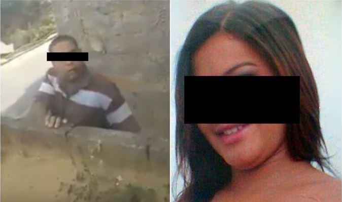 Mujer peleó con su vecino, ella lo filmaba y se grabó su propio asesinato (VIDEO)