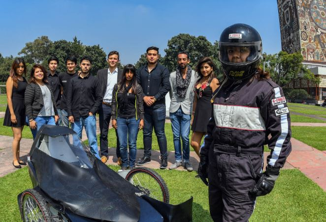 Estudiantes de la UNAM crean auto eléctrico para competir en torneo de Brasil