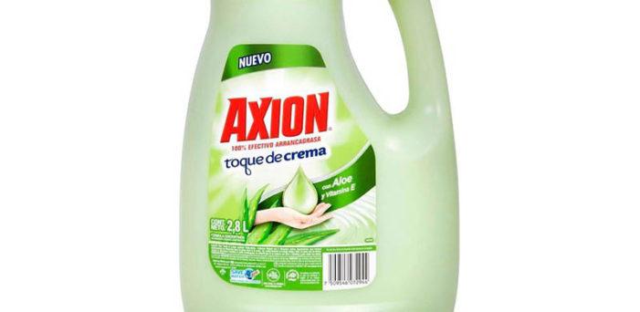 Profeco retira lavatrastes 'Axión' por presencia de bacterias