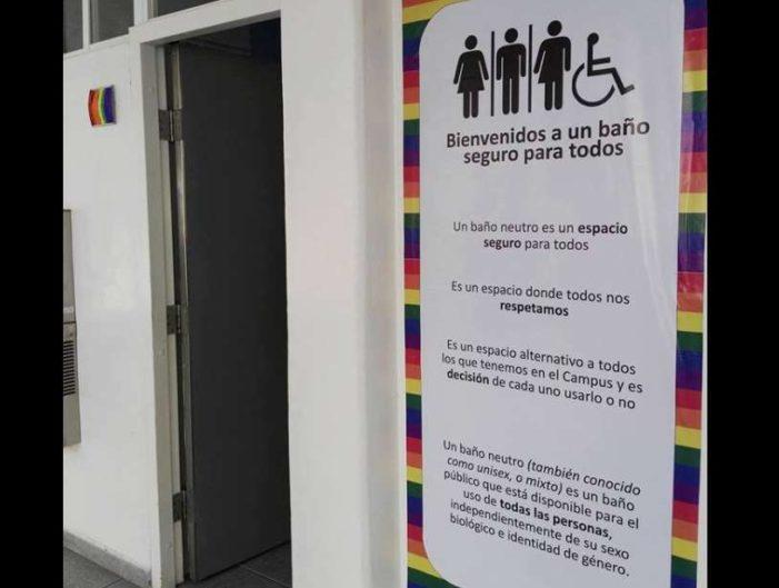 Asociación estudiantil inaugura baño mixto en Tec de Monterrey Campus Querétaro