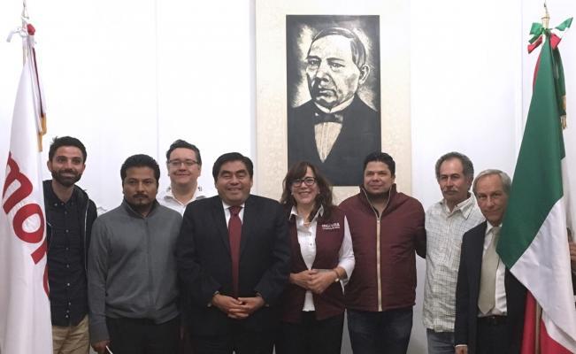 Morena perfila a Miguel Barbosa como posible candidato a gubernatura de Puebla
