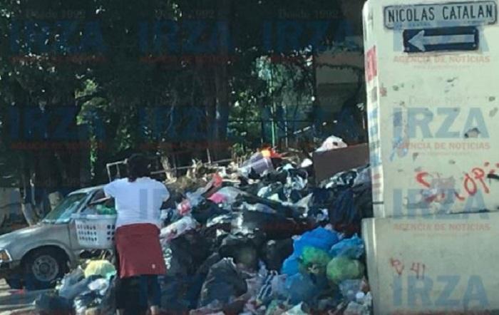 Alcalde priista de Chilpancingo incapaz de organizar recolección de basura; es alerta de salud