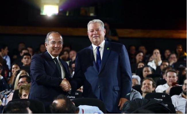 En el Festival de Cine de Morelia gritan ratero a Felipe Calderón