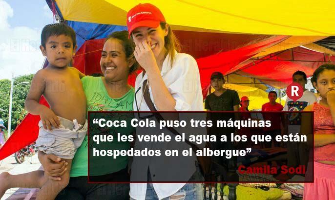 Camila Sodi denuncia a Coca Cola por aprovecharse de damnificados por sismo