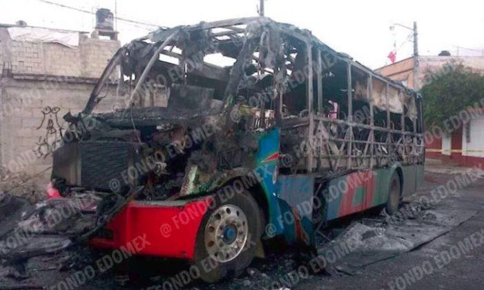 Queman camiones, secuestran y matan choferes; Edomex bajo el terror de extorsionadores