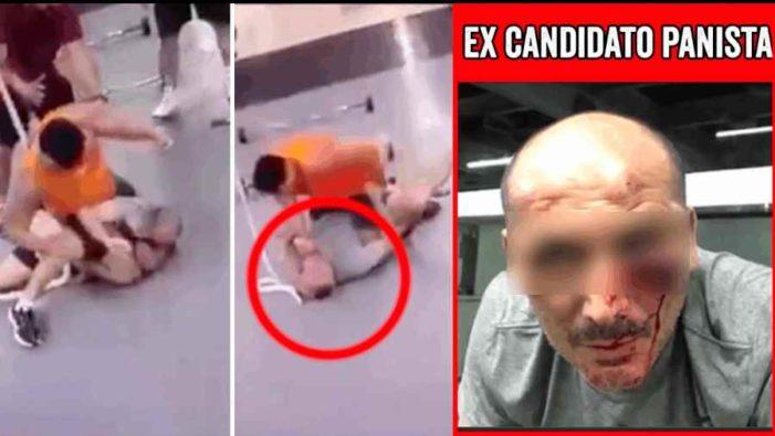 Brutal golpiza a funcionario por viejas rencillas de parranda (VIDEO)