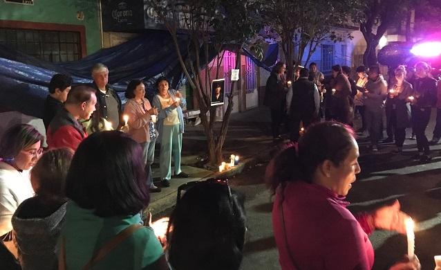 Vecinos se movilizan para exigir justicia para Candy; no fue rescatada por negligencia