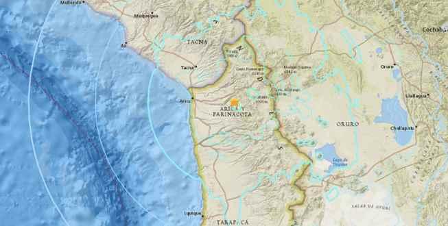 Sismo de 6.3 grados sacude Chile