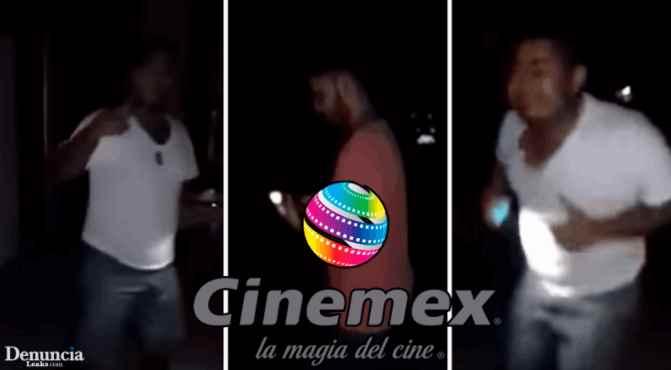 Asisten a la función nocturna y los dejaron encerrados en Cinemex (VIDEO)