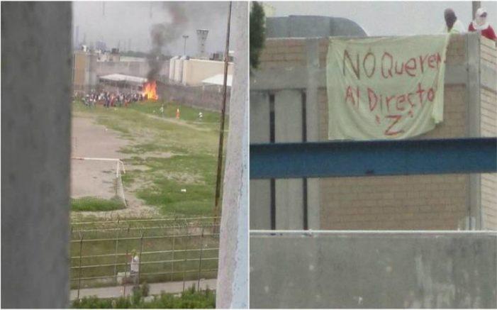 Reos protestan en penal de Cadereyta por nuevo director, hay un muerto (VIDEO)