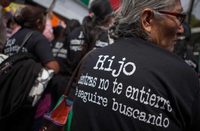 Casi 35 mil desaparecidos en gobierno de Peña Nieto, 10 mil más que con Calderón