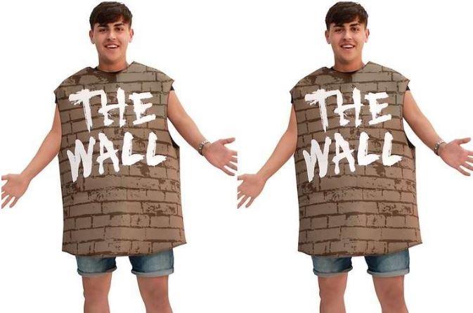 Tienda de EU lanzó a la venta polémico disfraz del muro fronterizo para Halloween