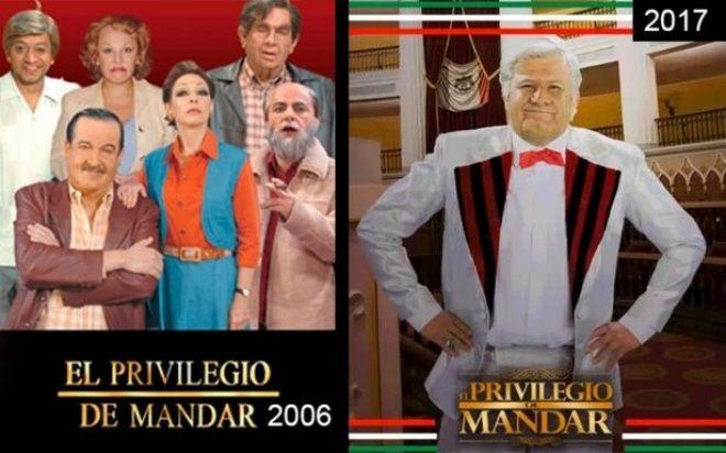 Regresa a la tv 'El privilegio de mandar' para 'influir' en elección de 2018