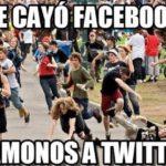 Reportan caída de Facebook, y todos se van a Twitter (Memes)
