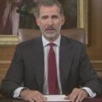 Rechaza Felipe VI independencia de Cataluña, dice que se declaró 'ilegalmente' (VIDEO)