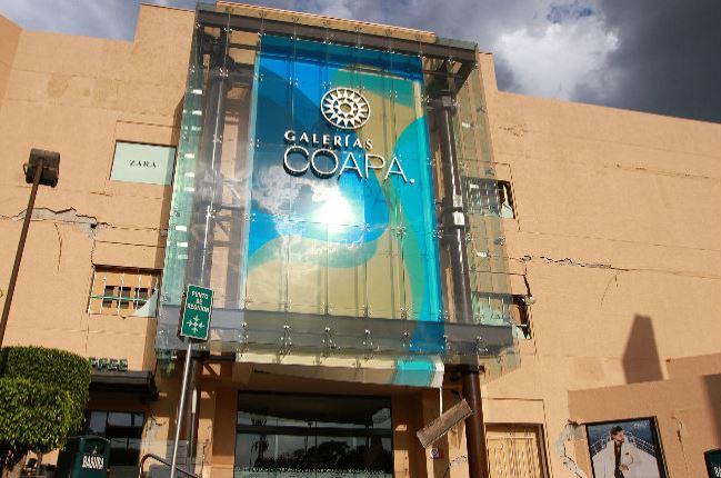Por daños del sismo, Galerías Coapa reabrirá hasta marzo de 2018