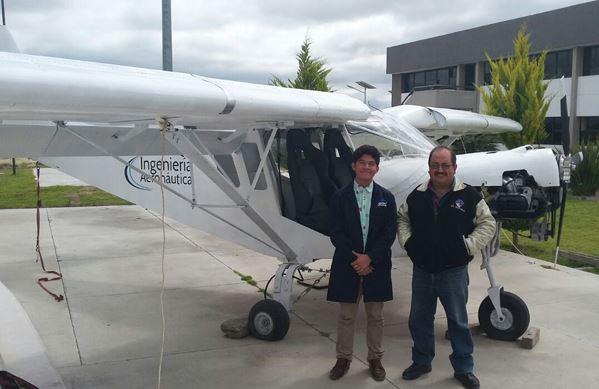Estudiante de Tultepec irá a la NASA