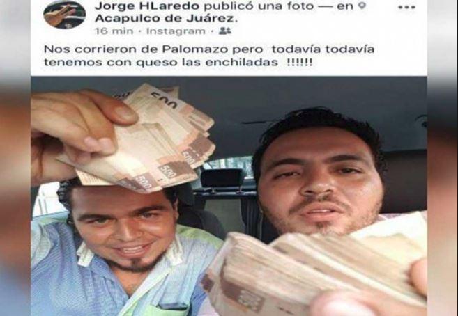 Presumió billetes para parradear y lo destituyen en Acapulco