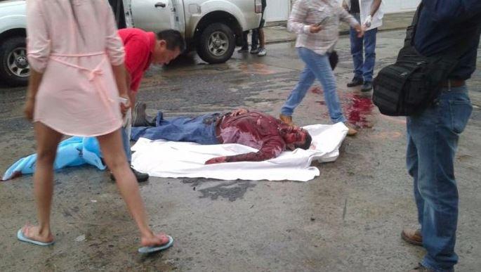 Acribillan a balazos a líder de la CTM en las puertas de su casa en Tuxpan