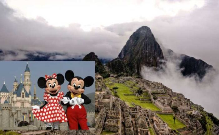 Congresista de Perú propone construir Disney World en Cusco, cerca de Machu Picchu