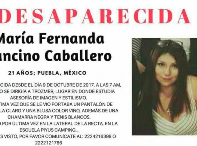 Desapareció otra estudiante en Puebla, a un mes de Mara