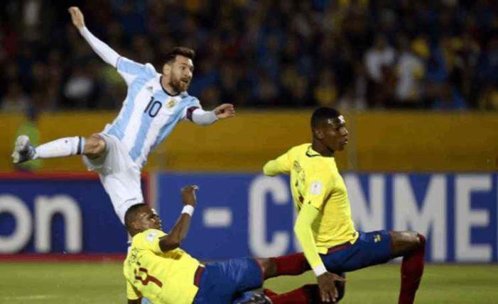Argentina califica al Mundial de Rusia 2018, gracias a Messi