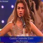 Reinas de belleza dan cifras de feminicidio en lugar de su presentación (VIDEO)