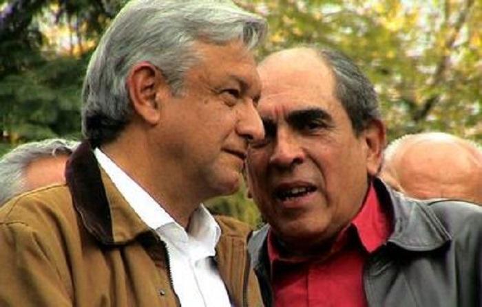 PRD suspende los derechos de Pablo Gómez por apoyar a AMLO