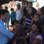 Perdieron todo, Peña prometió reconstruir sus casas, por supuesto 'error' se quedan sin apoyo