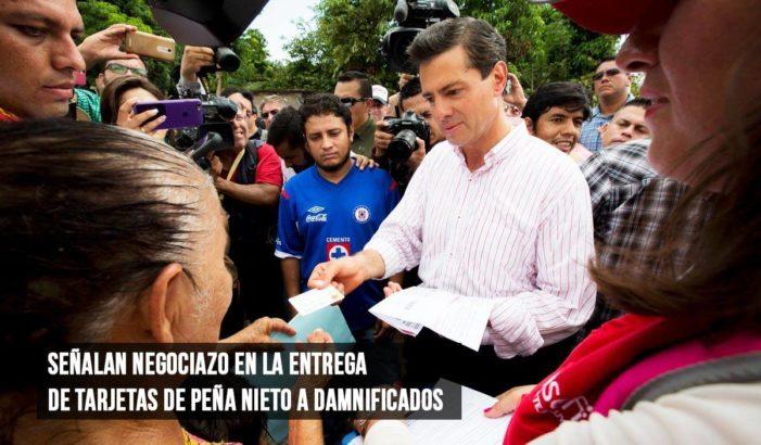 Tras la tragedia, empresas 'certificadas' por Peña Nieto hacen negociazo (VIDEO)