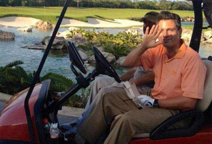 Para Peña Nieto el Golf sí es prioridad, lo practica todos los fines de semana