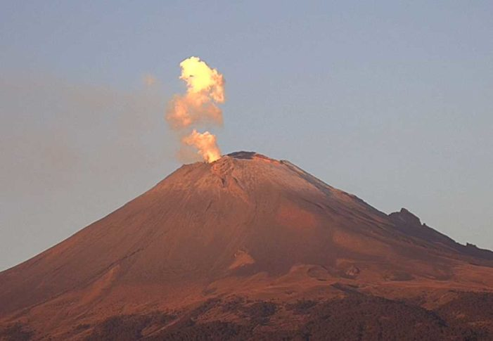Popocatépetl registra 68 exhalaciones en las últimas horas (VIDEO)