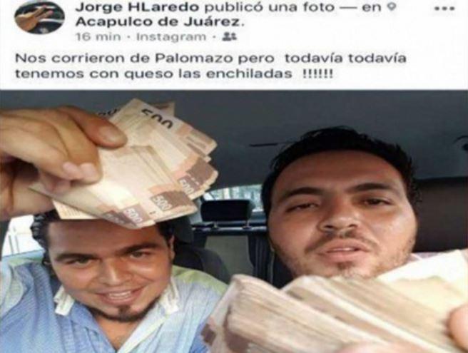 Destituyen a funcionario de Acapulco por presumir fajos para la 'parranda'