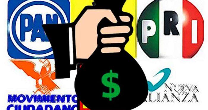 El dinero y los partidos