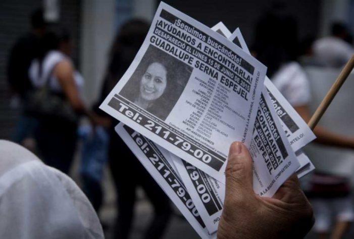 Cada 19 horas desaparece una mujer en Puebla, autoridades responden 'se fue con el novio'