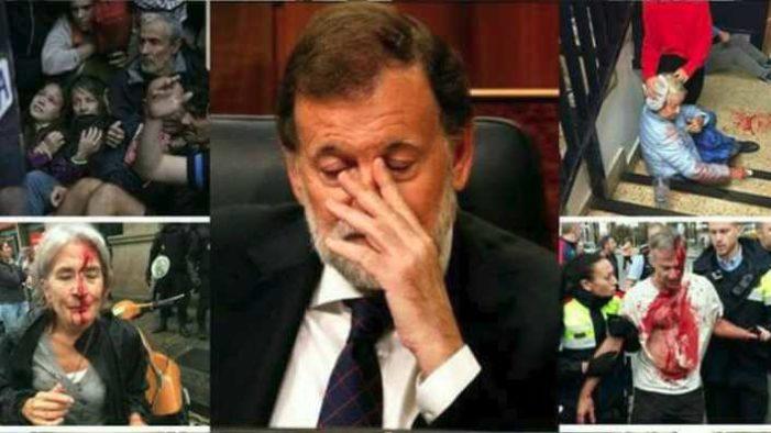 Rajoy justifica represión contra catalanes: 'hicimos lo que teníamos que hacer'