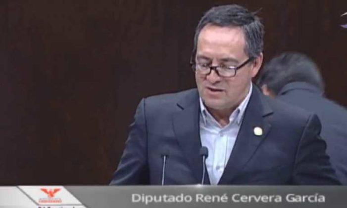 Diputado renuncia a Movimiento Ciudadano y se suma a Morena