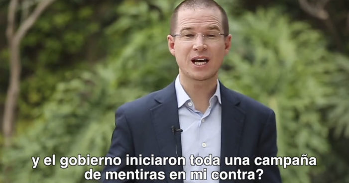 Ricardo Anaya afirma que ganó demanda contra El Universal, el diario apelará